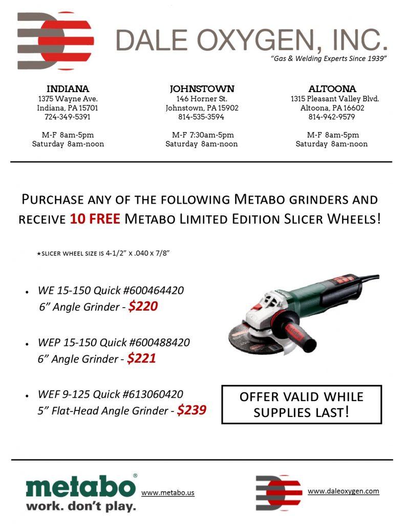 Metabo Wheel Giveaway