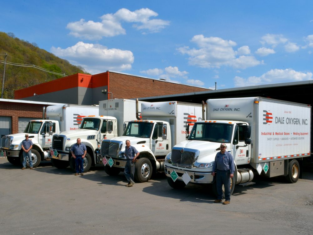 Dale Trucks at Loading Dock - with Drivers Google